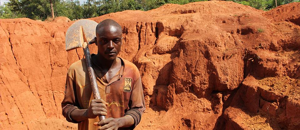 Fred Ejakait, Uganda Gold miner