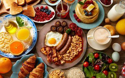 Men's breakfast meeting
