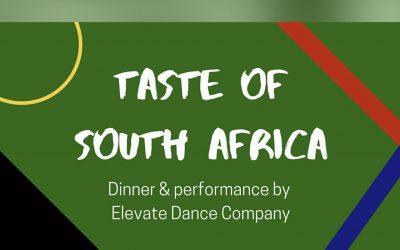 Taste of South Africa fundraising dinner