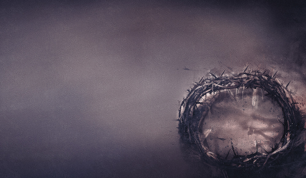 A crown of thorns symbolising Good Friday