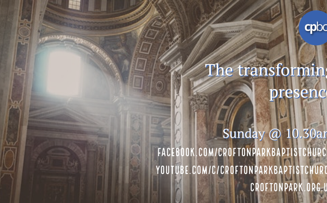 Podcast – The Transforming Presence